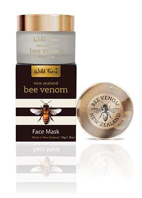 Wild Ferns Bee Venom Face mask บีวีนอม เฟสมาส์คกับแอคทิฟมานูก้าฮันนี่