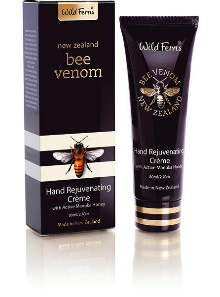บีวีนอมรีจูวีเนทติ้งแฮนด์ครีมผสมกับแอคทีฟมานูก้าฮันนี่ Bee Venom Hand Rejuvenating Creme with Active Manuka Honey
