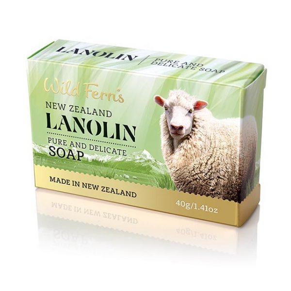 ลาโนลินเกสท์โซพ New Zealand Wild Ferns Hand and body soap lanolin