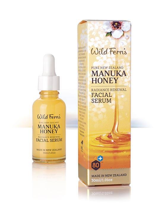 Wildferns manuka honey facial serum