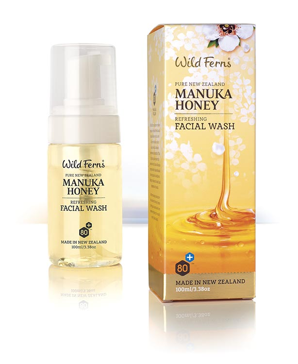 Manuka Honey Facial Foam Wash Wild Ferns