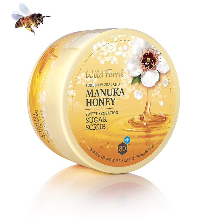 Manuka Honey Sugar Scrub